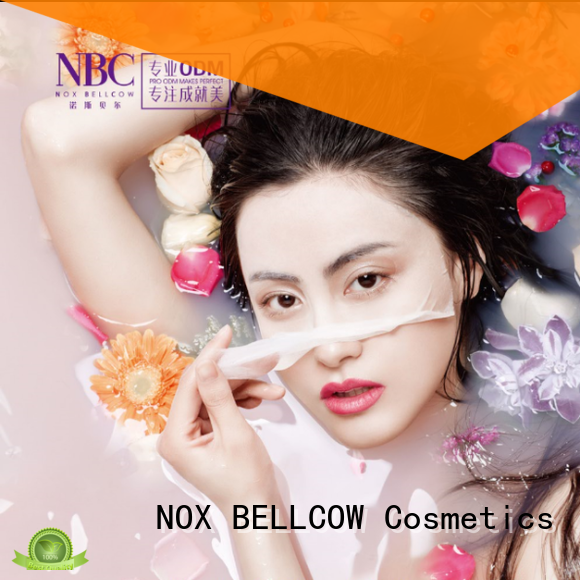 NOX BELLCOW dissolvable facial face mask products series for home