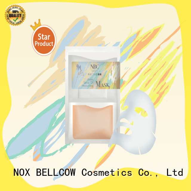 NOX BELLCOW nourishing facial mask skin care products series for travel
