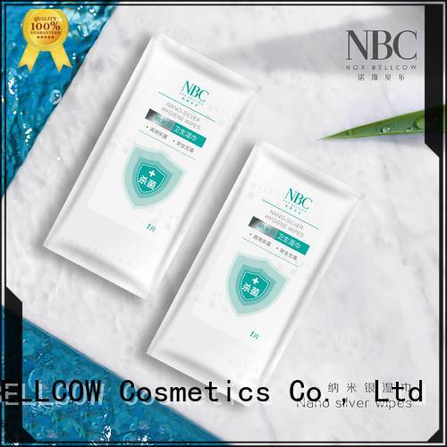 NOX BELLCOW Custom Nano silver wipes for women