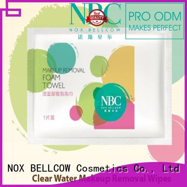 NOX BELLCOW removal antibacterial wet wipes manufacturer for skincare