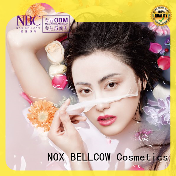 NOX BELLCOW pore japanese face mask series for home
