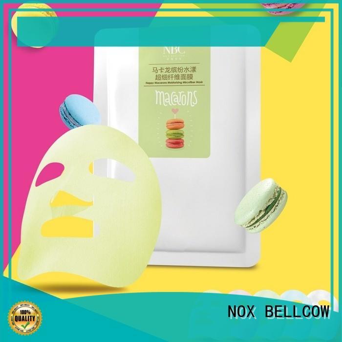charcoal facial essence mask wholesale for beauty salon NOX BELLCOW