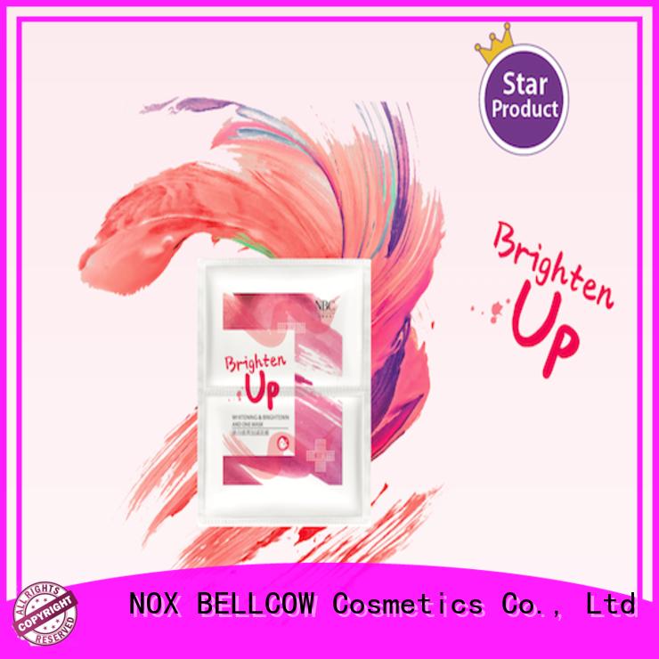 NOX BELLCOW firming facial sheet mask manufacturer supplier for travel