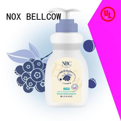 Custom baby skin care oil for business