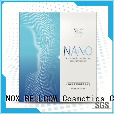 NOX BELLCOW charcoal facial mask for women series for travel