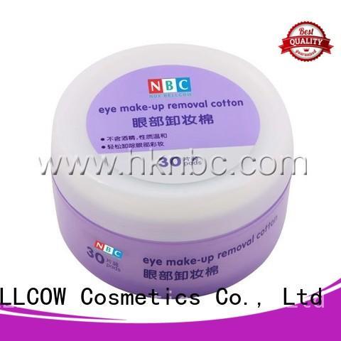 NOX BELLCOW biodegradable best makeup wipes for sensitive skin wholesale for skincare