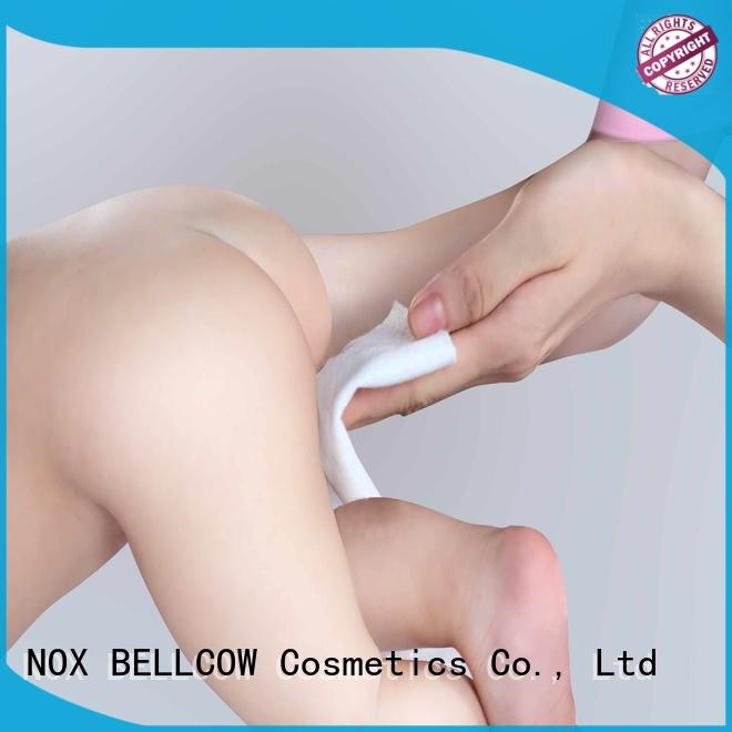 NOX BELLCOW lid natural baby wipes supplier for body