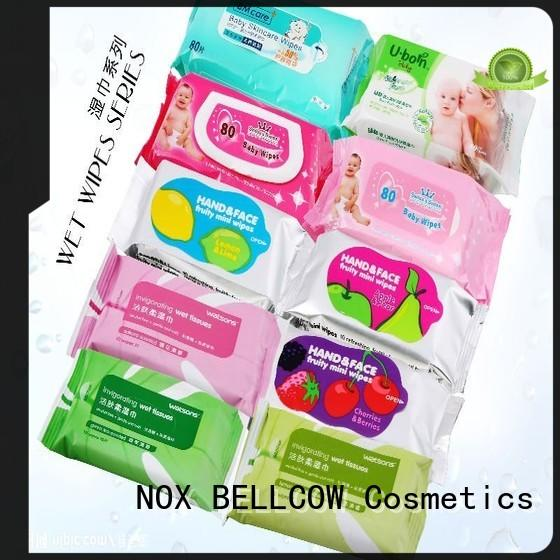 individual best facial cleansing wipes tissues manufacturer for hand