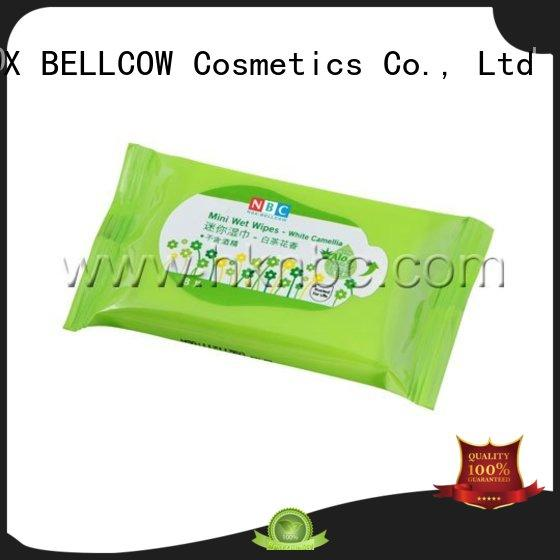 NOX BELLCOW green tea best cleansing wipes manufacturer
