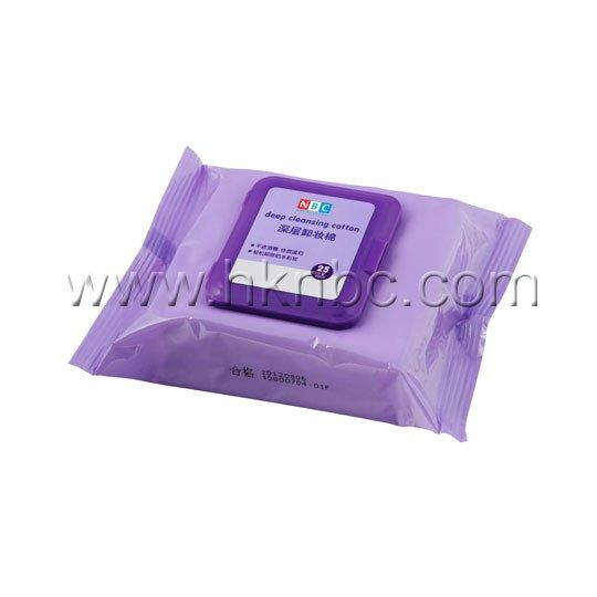 NOX BELLCOW cotton makeup wipes for sensitive skin supplier for hand