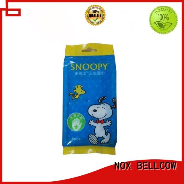 acne cleansing wipes mini cooling NOX BELLCOW Brand company