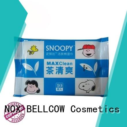 refreshing cleansing wipes snoopy supplier for adult
