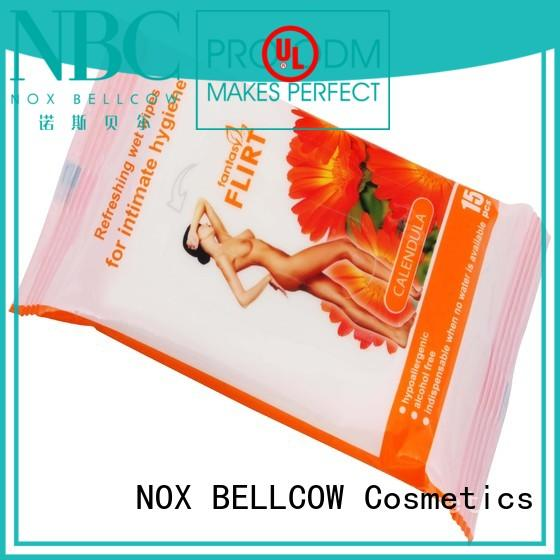 wipes wipes for face cleaning wholesale for ladies NOX BELLCOW