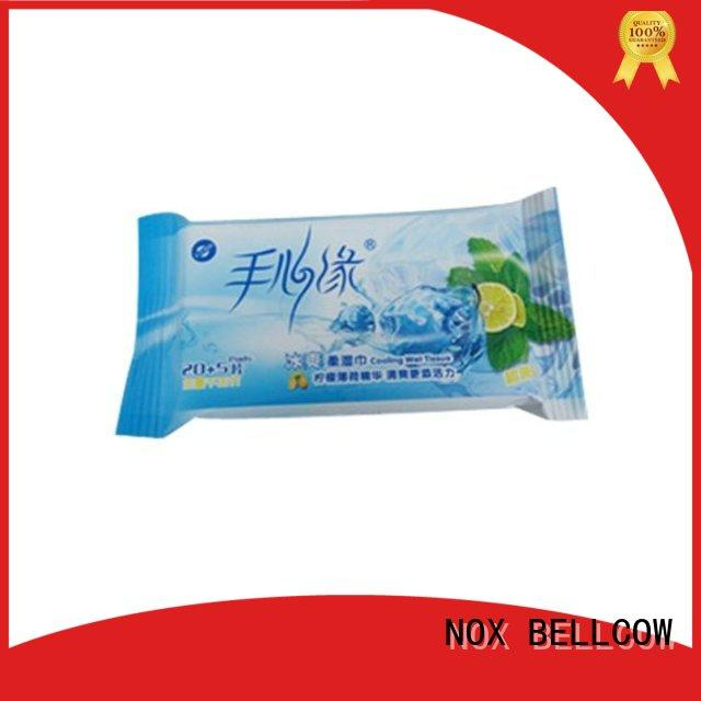 NOX BELLCOW invigorating best cleansing wipes factory for skincare