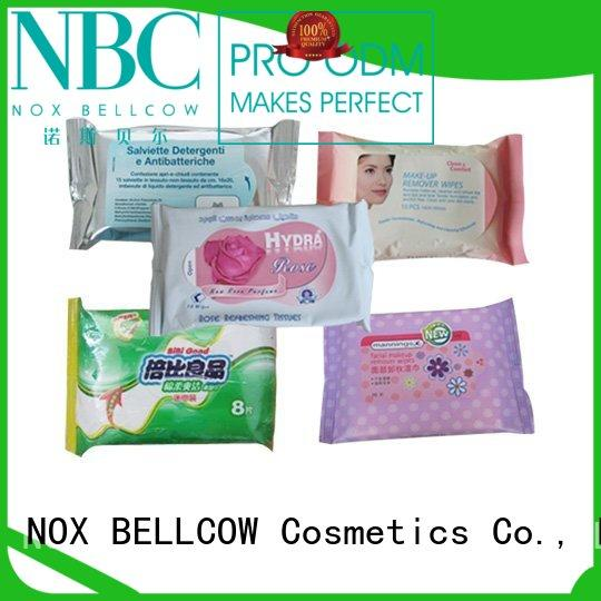 NOX BELLCOW individual best cleansing wipes for oily skin wet for man
