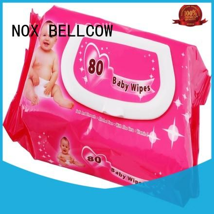NOX BELLCOW wipespecial pure baby wipes supplier for infant