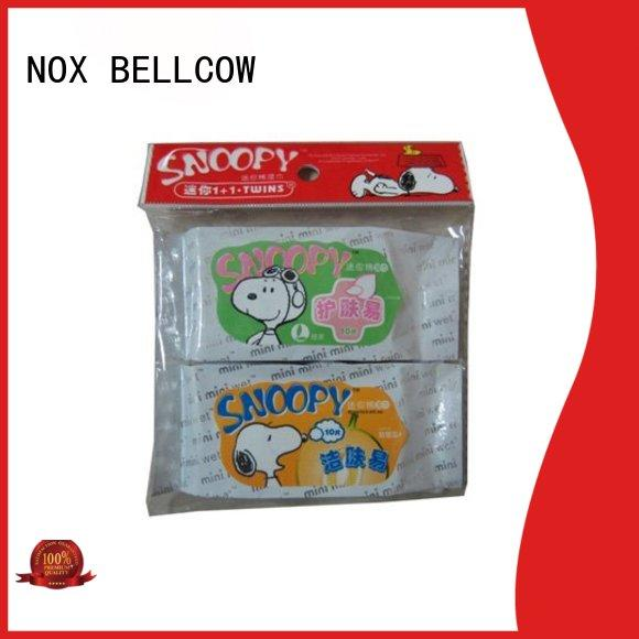 NOX BELLCOW scented oil cleansing wipes supplier for skincare