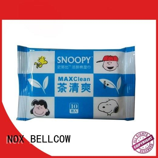 NOX BELLCOW refreshing best cleansing wipes supplier for women