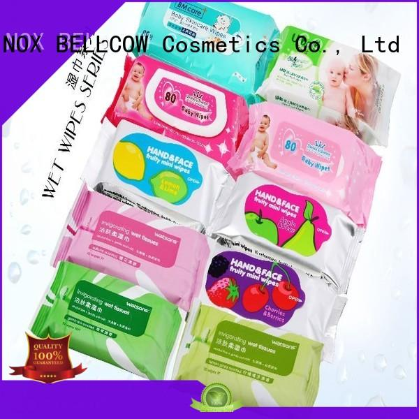 cleansing clean facial cleansing wipes snoopy refreshing NOX BELLCOW company
