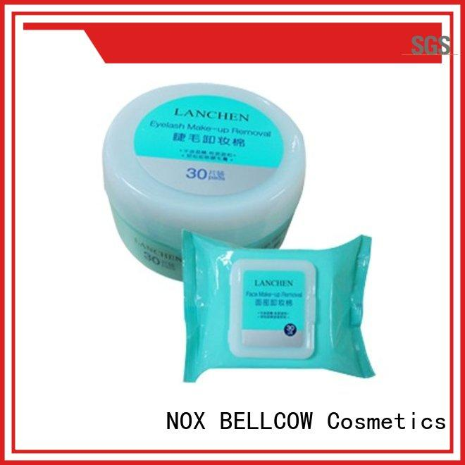 natural makeup remover tissue pads factory for face