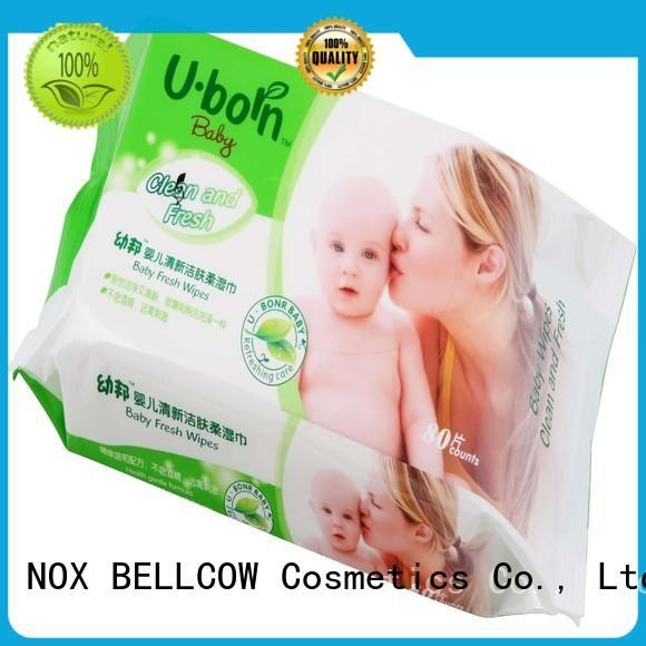 NOX BELLCOW Brand fragrance special best baby wipes tender factory