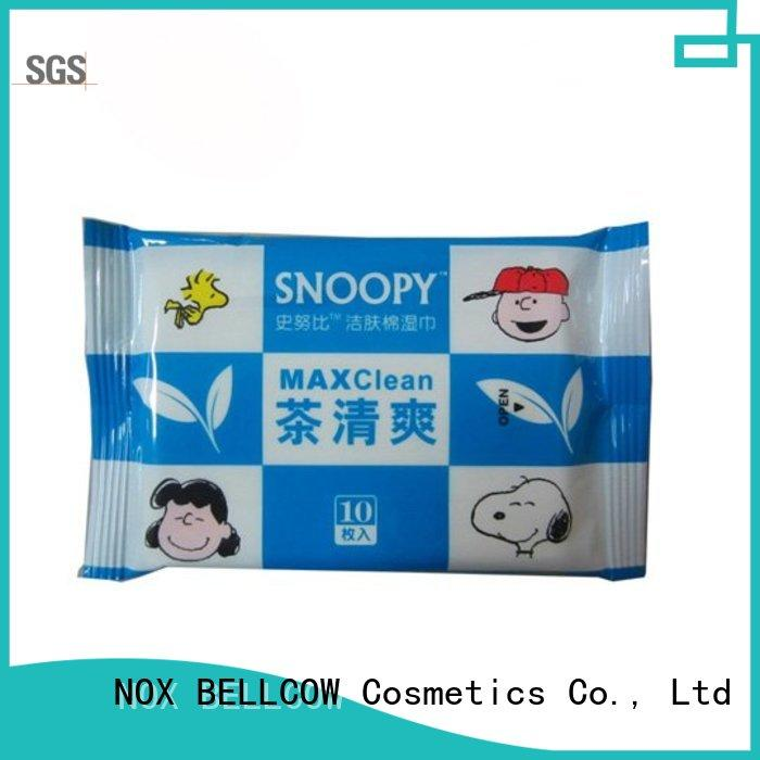 NOX BELLCOW mans oil cleansing wipes manufacturer for hand