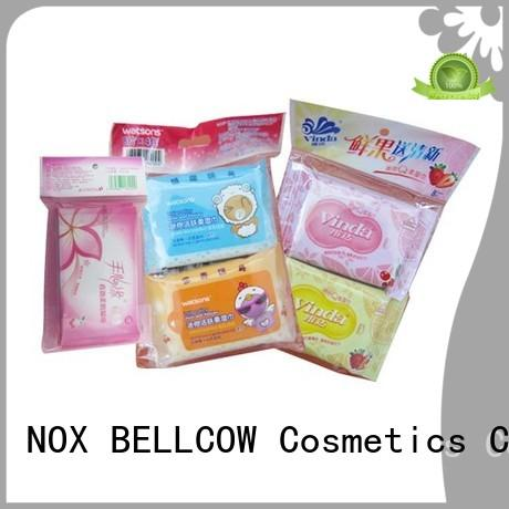 NOX BELLCOW individual cleansing wipes manufacturer for man
