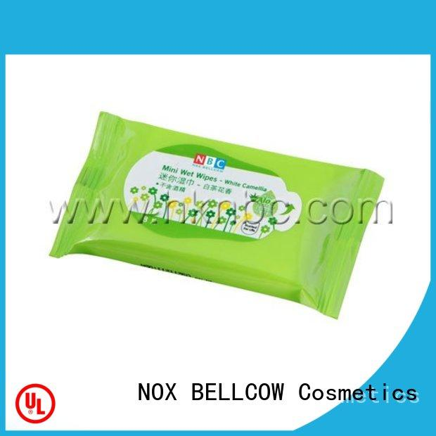 NOX BELLCOW invigorating best facial cleansing wipes factory for adult
