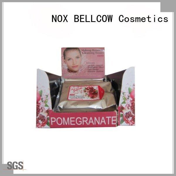 NOX BELLCOW wet makeup remover tissue manufacturer for hand