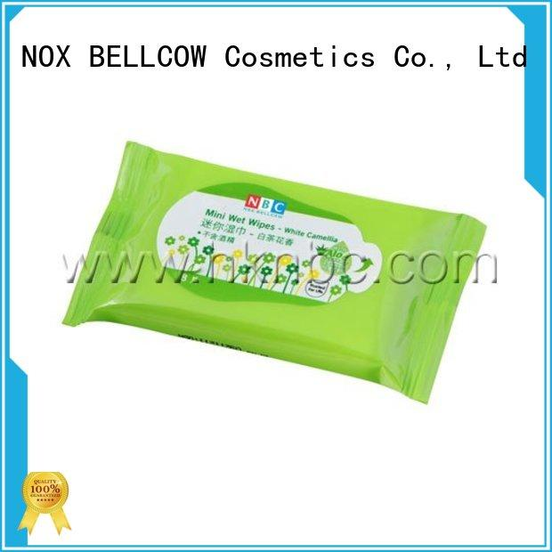 NOX BELLCOW lemon oil cleansing wipes factory for skincare