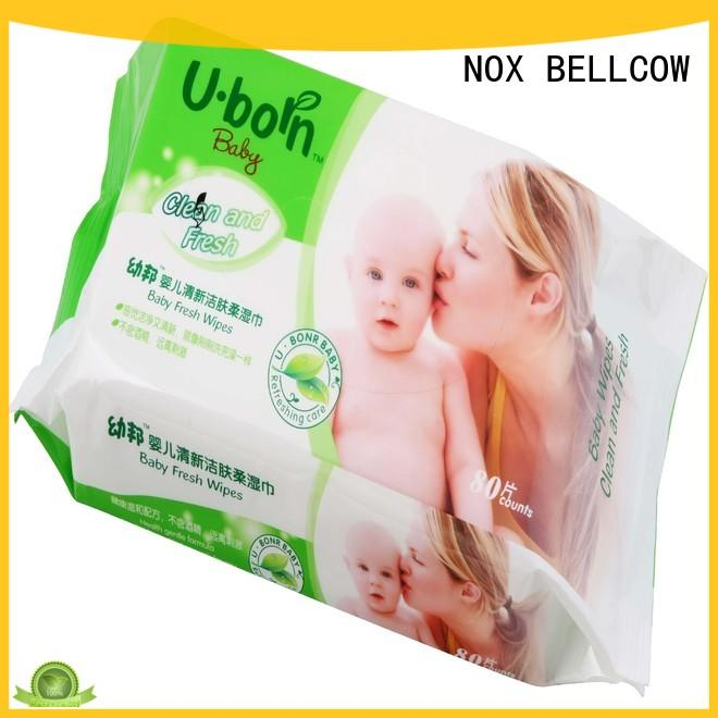 wet pure baby wipes 80s supplier for infant