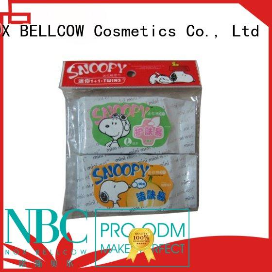 best cleansing wipes scented for ladies NOX BELLCOW