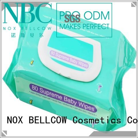 handmouth baby hand wipes moisturizing for skincare NOX BELLCOW