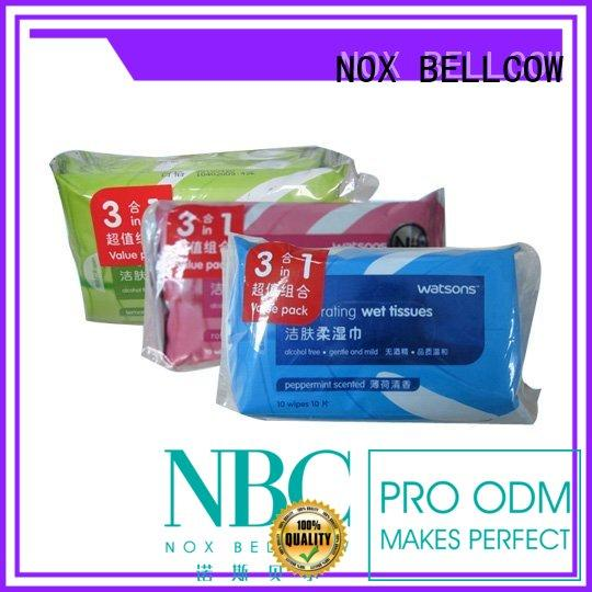 NOX BELLCOW scented oil cleansing wipes tea for man