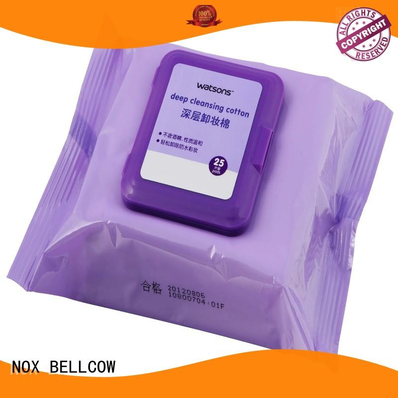 wipes remover OEM makeup remover wipes NOX BELLCOW