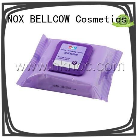 biodegradable makeup remover wipes for sensitive skin cotton manufacturer for face