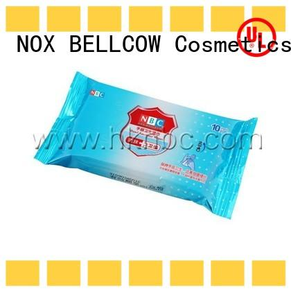 NOX BELLCOW 205pcs cleansing wipes manufacturer for hand
