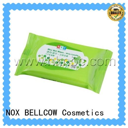 NOX BELLCOW invigorating cleansing wipes supplier for women