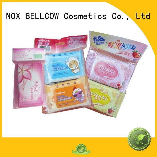 mini cooling wipe facial cleansing wipes NOX BELLCOW Brand