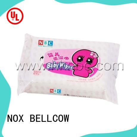NOX BELLCOW tender best natural baby wipes manufacturer for hand