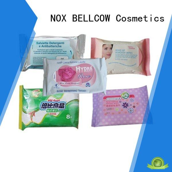 NOX BELLCOW green tea cleansing wipes manufacturer for man