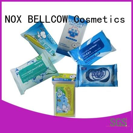 NOX BELLCOW invigorating cleansing wipes manufacturer for skincare