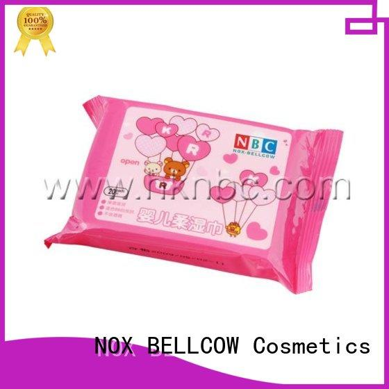 NOX BELLCOW 80s antibacterial baby wipes factory for infant
