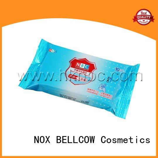 individual facial cleansing wipes lemon supplier for women
