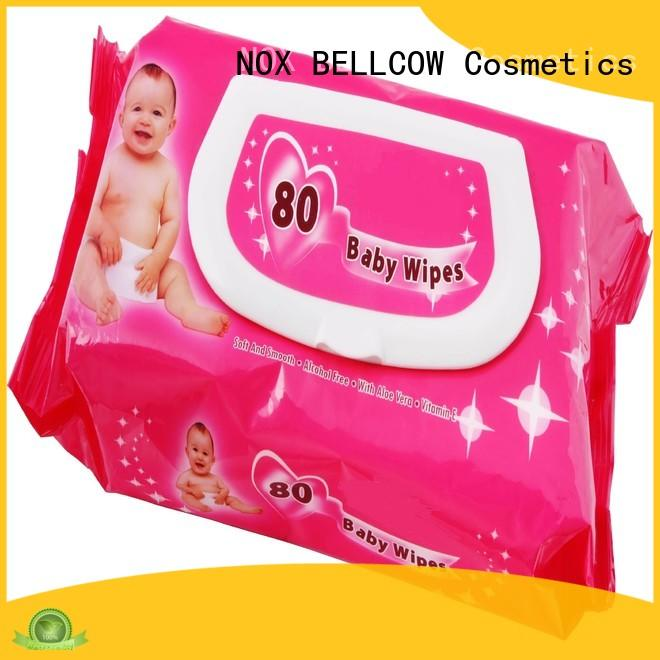 NOX BELLCOW tender newborn baby wipes manufacturer for ladies