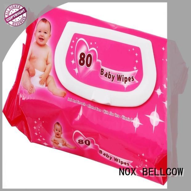 wet baby tissue 88pcspack supplier for skincare