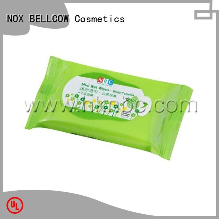NOX BELLCOW tissues men's facial cleansing wipes supplier for face
