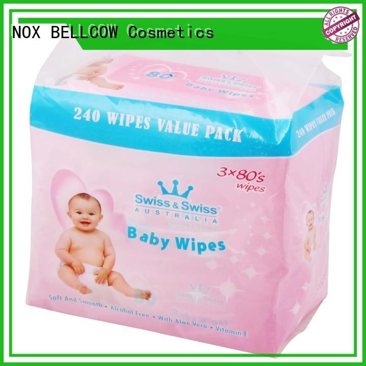 NOX BELLCOW hand best baby wipes factory