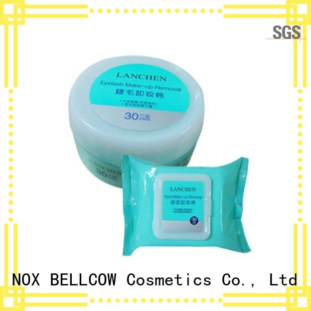 NOX BELLCOW cleansing best makeup remover wipes manufacturer for skincare