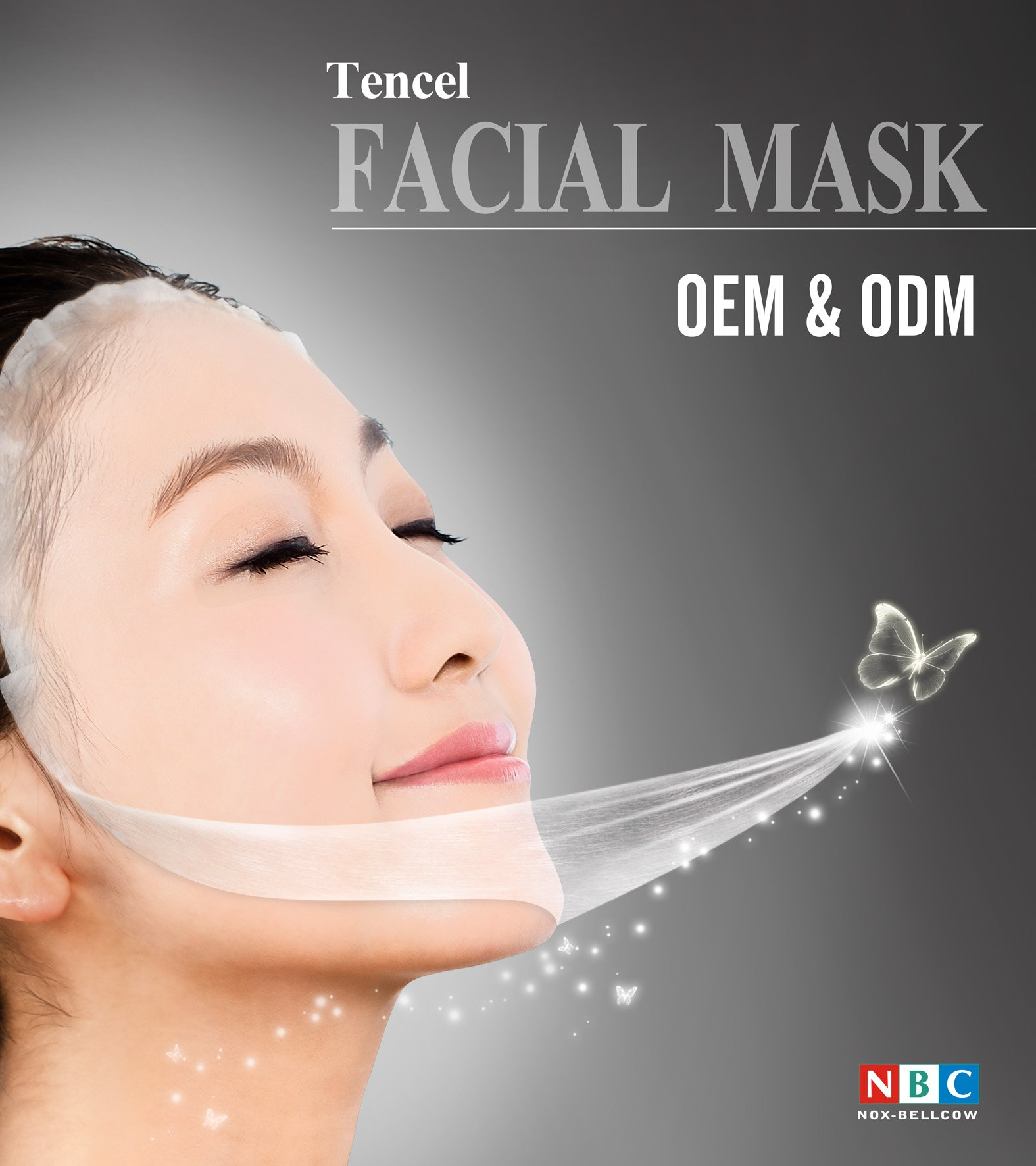 NOX BELLCOW-Tencel® Mask- Tencel® Fiber Promoting And Applying In The